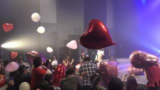 2017/1/8 福岡のアイドルグループHRスカラエスパシオ新春大作戦アンコー...