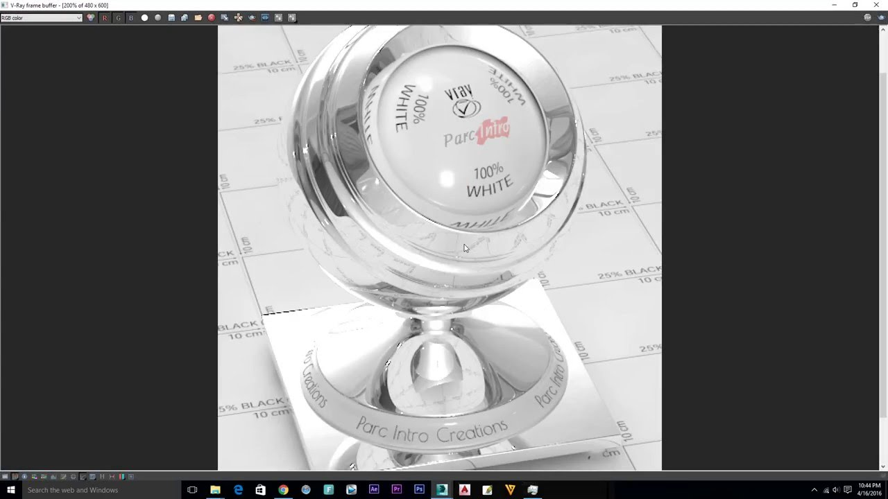 Mirror material vray 3 3 for 3ds max own vray 3 3 for Mirror vray material