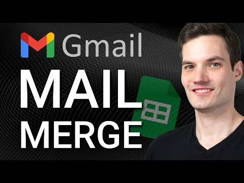 ✉ How to Mail Merge in Gmail & Google Sheets (for free)