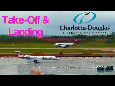 Charlotte Douglas International Airport (SPOTTING)