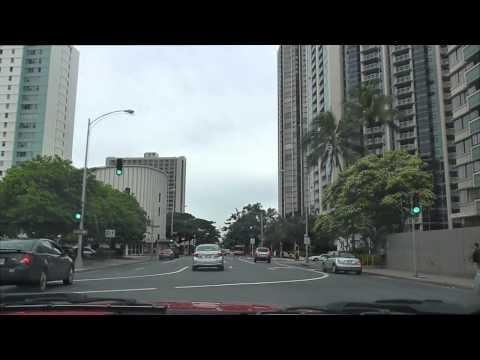 Cruising Honolulu (Beretania to Dillingham)