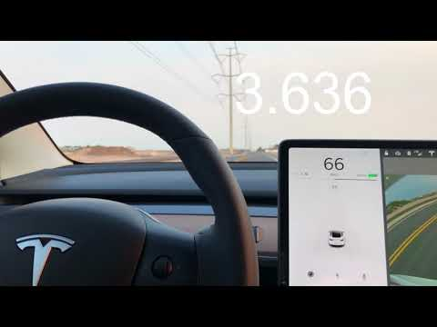 Tesla Model 3 Performance 060 mph Timed Runs
