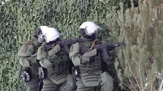 Учение военных инженеров в Тюменской области