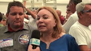 Convenção do PR e MDB - Gorete Pereira
