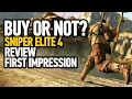 Sniper Elite 4 Review PS4 - First Impression (Buy Or Not - Performance Analysis)