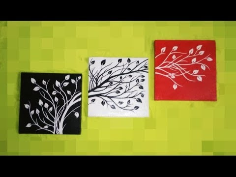 3 piece canvas painting wall art