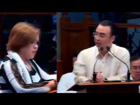 Senator Laila De Lima Vs Senator Allan Peter Cayetano