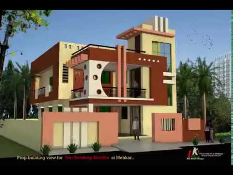 Front Elevation For 2 Floor House Youtube