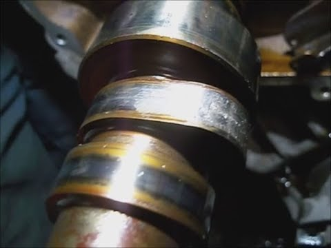 GMC Denali`08 6.2l camshaft, timing chain, oil pump removal detailed block prep pt.6