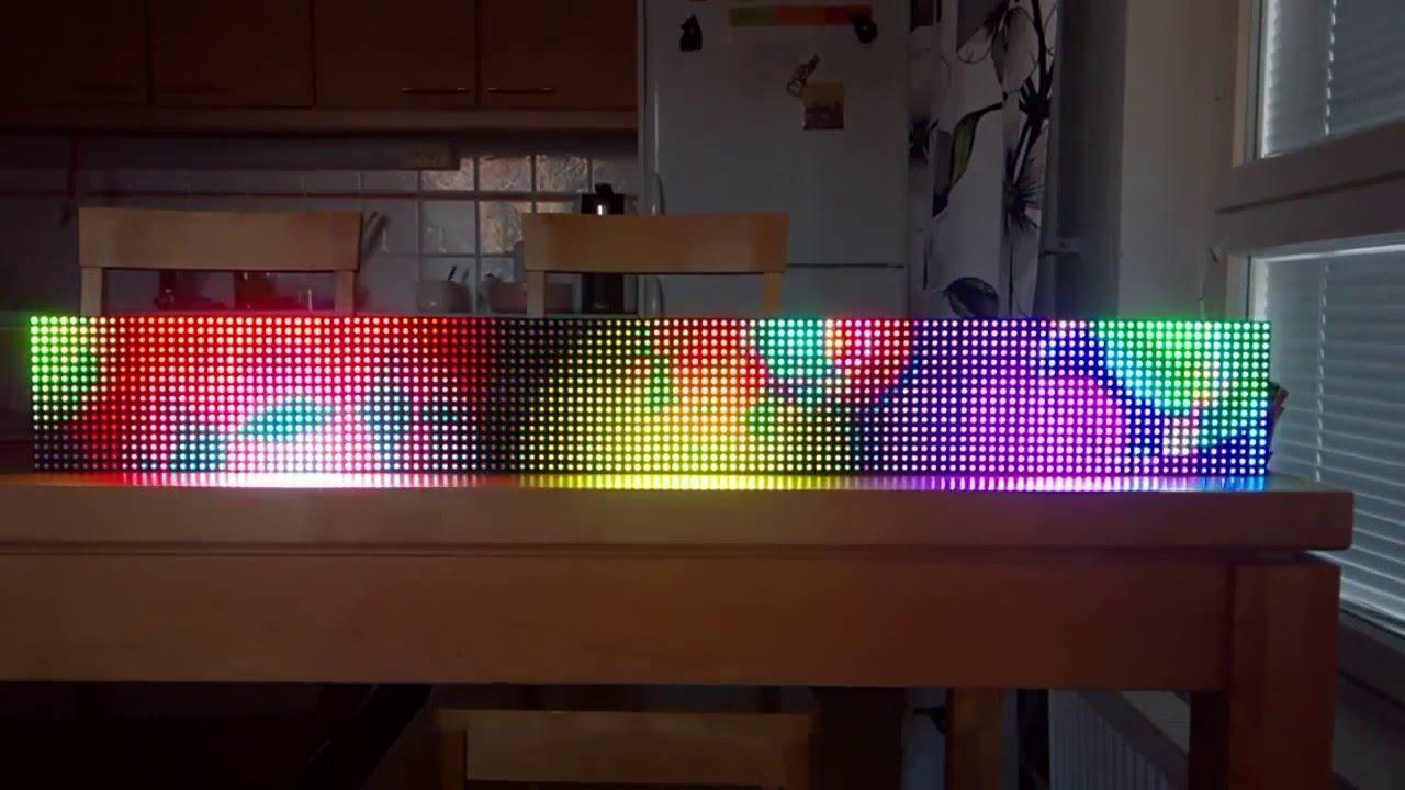 Some RGB matrix stuff - YouTube