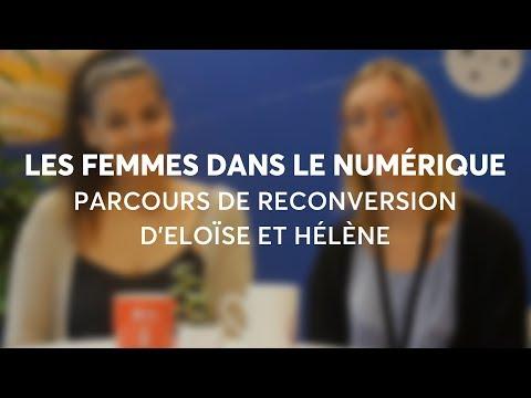 Les femmes dans le numérique - Le parcours de reconversion d'Eloïse et Hélène | ASI