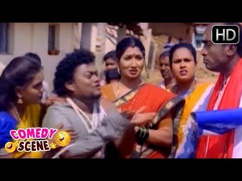 Sadhu Kokila Behaving Like Mad   Kannada Comedy Video Scenes   Thayi Illada Thabbali   SGV Comedy
