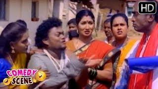 Sadhu Kokila Behaving Like Mad | Kannada Comedy Video Scenes | Thayi Illada Thabbali | SGV Comedy