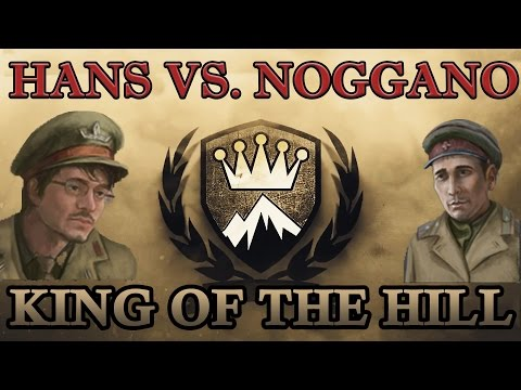 King of the Hill Final game - Helping Hans vs. Noggano - Hans fighting to be crowned the first King.