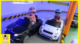 Fun Indoor Playground for Kids and Family at car racing | MariAndKids Toys
