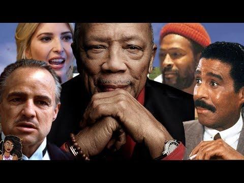 Quincy Jones Spills Tea On Marvin Gaye, Richard Pryor, Marlon Brando and Ivanka Trump