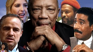 Quincy Jones Spills Tea On Marvin Gaye, Richard Pryor, Marlon Brando and Ivanka Trump