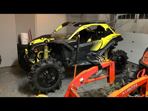 "Canam x3 XMR with SuperATV Assassinator 36"" tires"