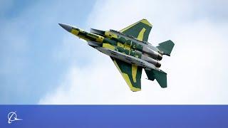 Boeing-Built F-15QA First Flight