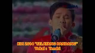 (0,985)  Konser KDI 2014  -- Yendri :  SELAYANG PANDANG