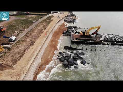 Milford-on Sea Coastal Erosion 2020