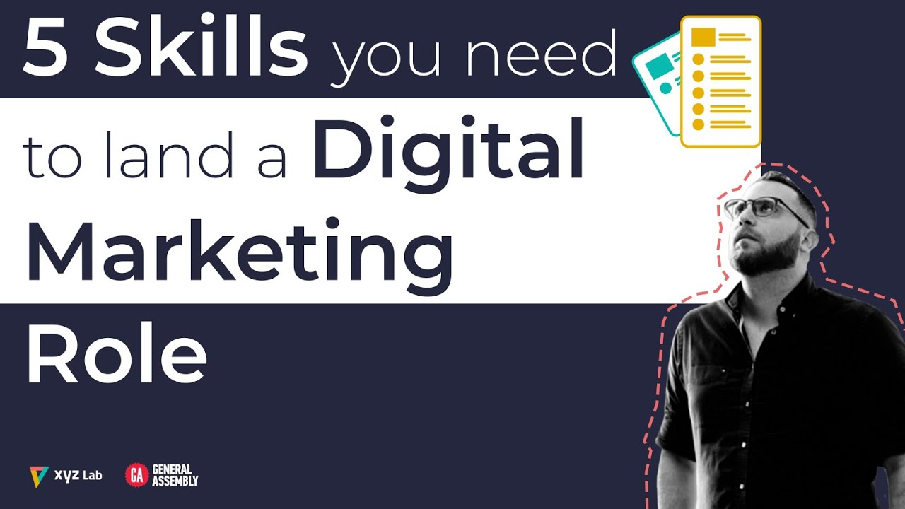Top 5 Skills You Need to Land a Job in Digital Marketing