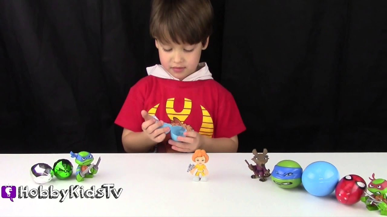 TMNT Surprise Egg Words Learn To Read and Spell by HobbyKidsTV