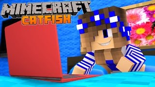 Minecraft-Little Carly-LITTLE CARLY IS CATFISHED!!