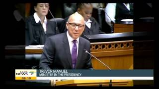 Parliament bids farewell to Manuel and Motlanthe