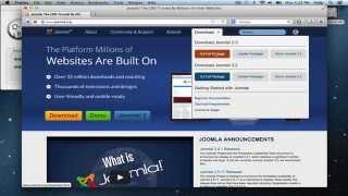 Install Joomla on a Mac - MAMP and Joomla Setup