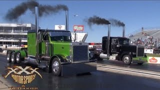 BIG RIG DRAG RACING!!