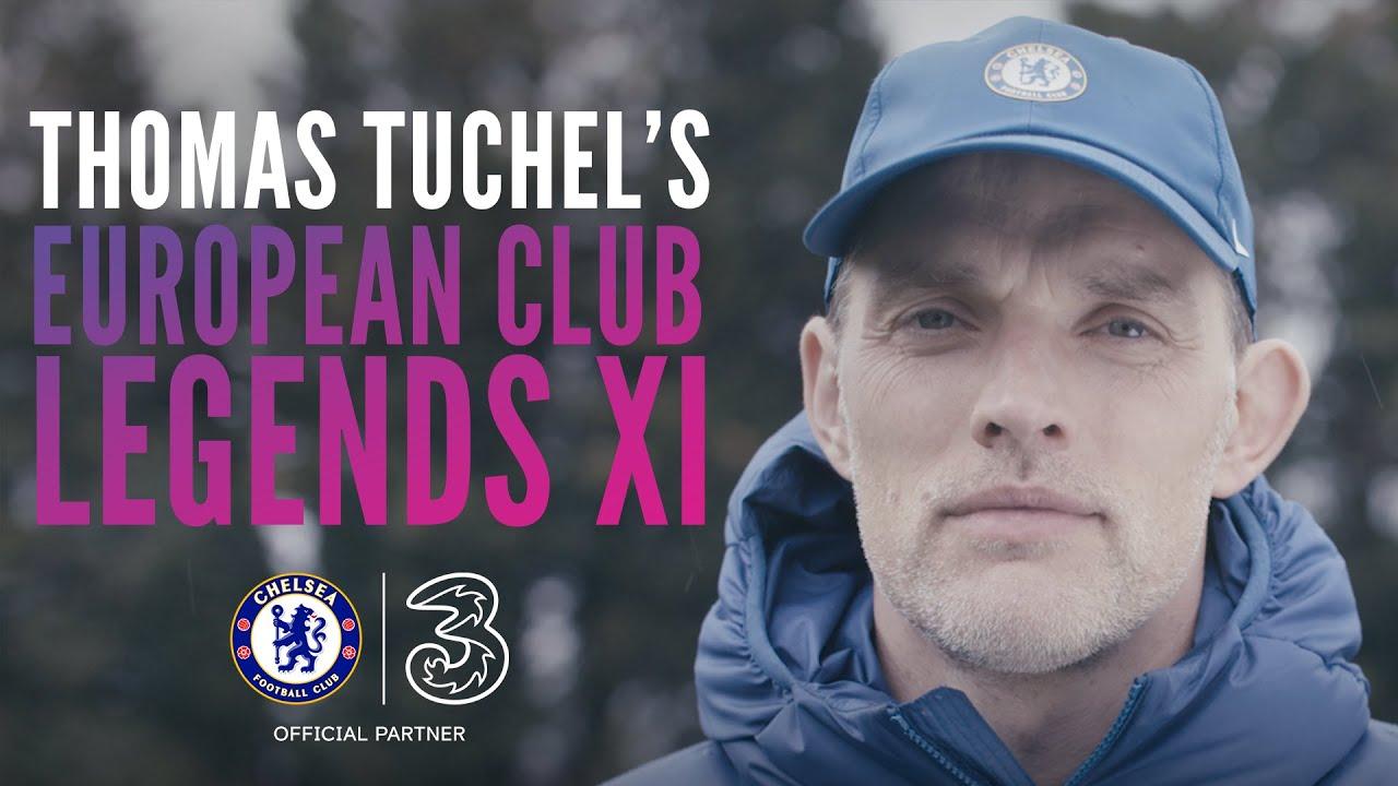 Three UK  |  Thomas Tuchel's Ultimate 90's XI  |  Chelsea FC