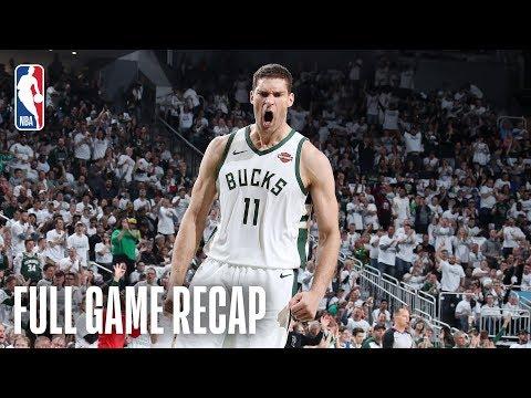 Bucks Take 1-0 Lead On Raptors