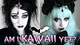 One of It's Black Friday's most viewed videos: Goth to Pastel Goth Transformation! | Black Friday
