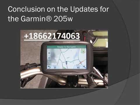 Garmin® Nuvi 205w Software System Updates