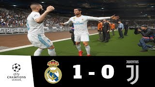 Real Madrid vs Juventus All Goals & Extended Highlights 1080p HD | UEFA CL | PES 2018