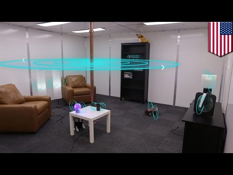 Wireless charging room: Disney Research turns whole room into charging station - TomoNews