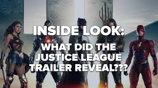 What the Justice League Trailer Reveals- Inside Look