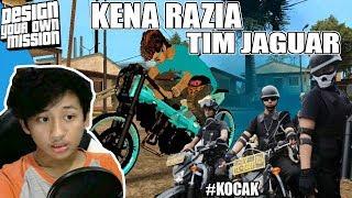 Ucok balapan Drag Motor , Kena razia Tim Jaguar GTA INDO (DYOM)
