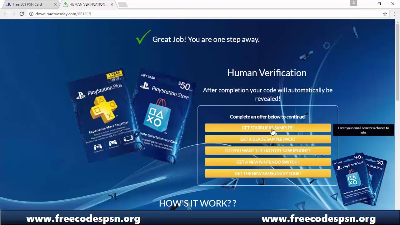 code psn gratuit playstation plus - g u00e9n u00e9rateur de code psn  carte psn gratuit 2017