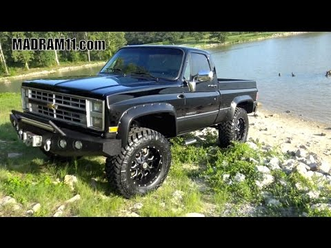 1986 chevrolet 3 4 ton 4x4 new interior new paint s doovi. Black Bedroom Furniture Sets. Home Design Ideas
