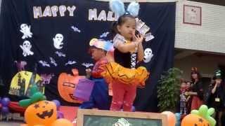 希望城堡幼兒園103年萬聖節活動--萬聖節走秀--幼幼班2