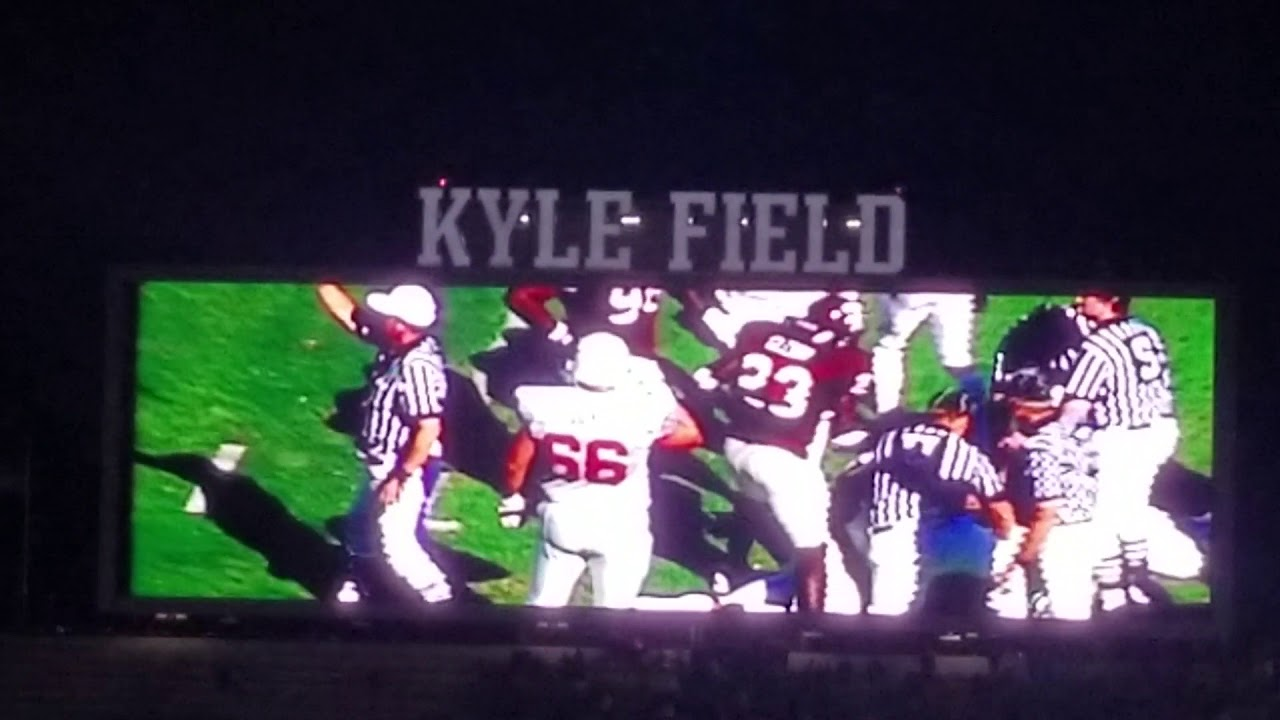 Texas A&M LSU 2018 There's a Spirit Intro Kyle Field - YouTube