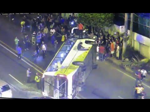 48 sugatan sa bus accident sa EDSA Estrella sa Makati City