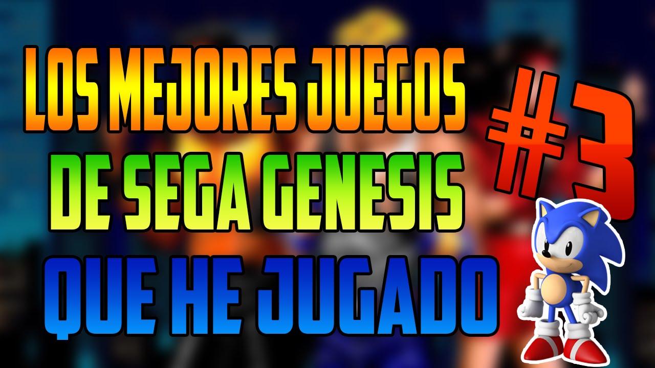 Los Mejores Juegos De Sega Genesis Que He Jugado Parte 3 3 Youtube