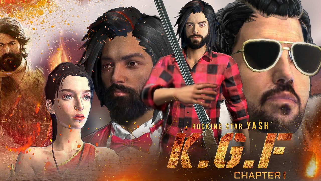 K.G.F - Chapter 1 short emotional story in free fire || Free fire story
