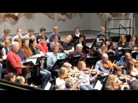 Openbare repetitie van het Residentieorkest en het Laurens collegium Rotterdam