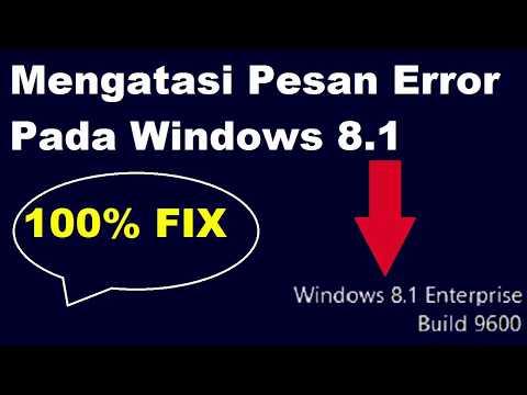 Cara Menghilangkan Build 9600 Pada Windows 8 Baru