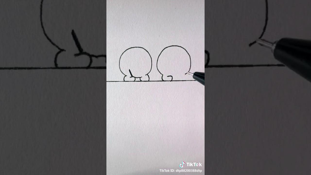 Cách vẽ chibi cute đơn giản…!😜