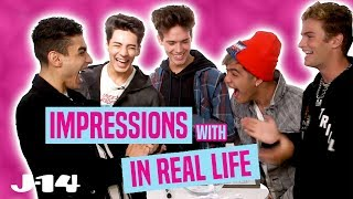 Download In Real Life Does Impressions of Ariana Grande, Selena Gomez, and More! Mp3 and Videos